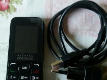 Telefon mobil ALCATEL , simplu ,nou, dualsim , negru