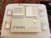Kit alarma Teletec PC1500 / Made in Canada