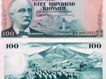 Lot 2 bancnote ISLANDA 1961-2001