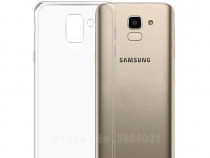 Samsung j4 j6 j4+ j6+ husa slim din silicon transparenta
