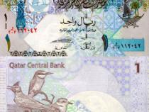 Bancnota 1 riyal, 2007, QATAR, UNC, necirculata