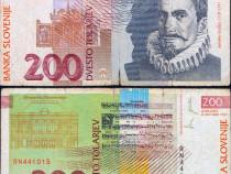 Lot 3 bancnote SLOVENIA 1992-1997