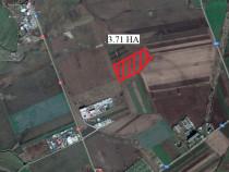 Teren 3.7 ha. zona Centura Arad - 16091