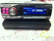 CD Player Alpine CDA 9853R-3căi activ (Hertz Focal Audison)