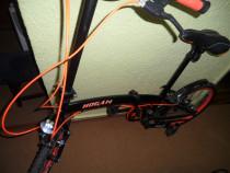 Bicicleta pliabila HOGAN, din aluminiu