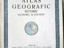 Atlas - O carte rară...tipărită în Brașov mulți ani în urmă!