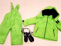 Costum ski, combinezon, salopeta iarnă Impidimpi nr. 74 - 80
