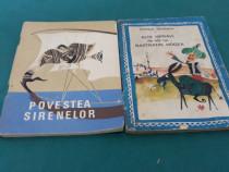 Lot 2 cărți colecția traista cu povești: povestea sirenelor