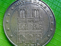 Medalia Notre Dame 2012 Monetaria din Paris Franta.