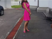 Rochie de seara/zi roz