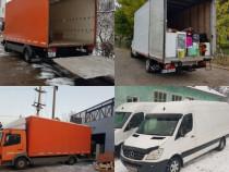 Servicii de transport marfă și mutări mobila iasi