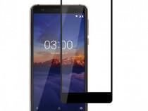 Nokia 2.1/3.1 - Pachet Husa Silicon Clara + Folie Sticla Ful