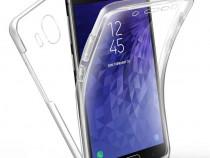 Husa 360 Silicon Clar Fata si Spate - Samsung J4 J6 J4 Plus