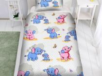 Lenjerie de pat Dumbo Disney