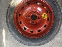 Roata de rezerva completa Fiat Punto 4x98