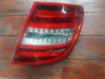 Stop lampa dreapta LED Mercedes C Class W204 Facelift Break