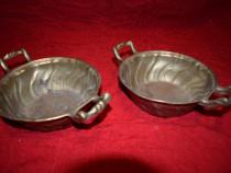 2 boluri din bronz masiv 21 cm