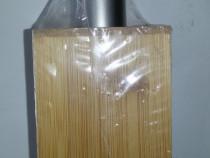 Dispenser dozator sapun din bambus