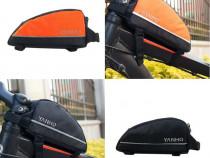 Geanta, borseta pentru cadru bicicleta top tube
