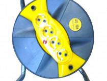 Prelungitor / Derulator tambur cablu, 3 x 2.5 mm, 40 M