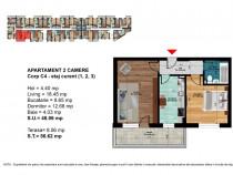 Apartament 2 camere balcon,pret accesibil,Dimitrie Leonida