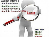 Servicii de audit in domeniul calitatii
