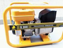 Generator professional de curent Benza E3000 B – motorizare