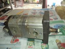 Pompa hidraulica cu roti dintate PRD-2 inseriata