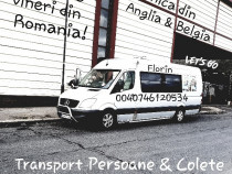 Transport persoane & colete saptamanal