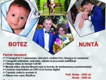Foto-Video nunta / botez + Cabina foto + Fum greu !