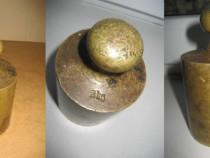 A250-Greutate 2 kg cantarit bronz.