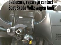 Reparatii deblocari contact vw skoda seat gama vag 1998-2013