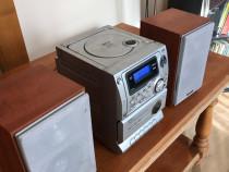 Sistem audio mp3 cu 2 boxe