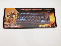Tastatura Gaming-Banda Usb BW09 Noua Sigilata L230