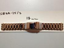 Bratara swatch metalica inox de 17mm latime si 19mm latime