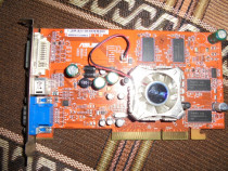 Placa Video AGP Asus Ati 9550 256MB 128biti