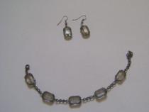 Set bijuterii gri