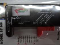 Tester Universal de Baterii BT168 1,5 V 9V NOU