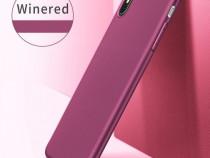 Pachet Husa Silicon X Level si Folie Sticla Iphone X XS 10