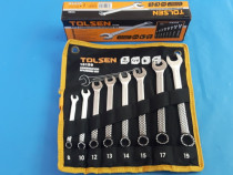 Set (8 buc) chei combinate, 8mm-19mm TOLSEN - Calitate Garan