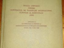 1984 - Reguli interne privind contractul de transport CFR