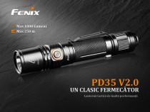 Fenix PD35 V2.0 - Lanternă Tactică - 1000 Lumeni - 250 Metri