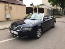 Audi a4 cabrio 2.5 TDI 163cp 6 trepte proprietar Full 2004