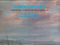 Beethoven: Sonatas nos. 4&5, LP vinil