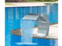 Waterfall fântâna cascada piscina, inox, 45 x 30 x 60 cm