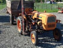 Tractor fiat + remorca + plug