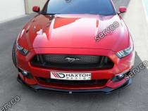 Prelungire splitter bara fata Ford Mustang MK6 2015-2018 v2