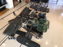 Set complet pescuit - folosit de 2 ori (conditie impecabila)