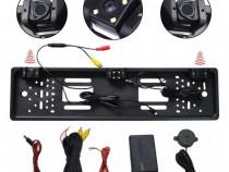 Set senzori parcare cu camera marsarier pe suport numar kit