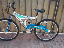 "Bicicleta 26"" mtb cu suspensie fata-spate"